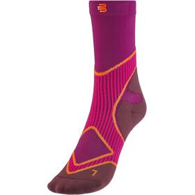 Bauerfeind Run Performance Mid Cut Socks Women, rosa
